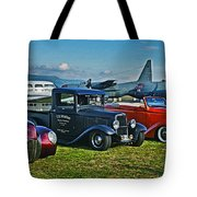 Planes And Cars Tote Bag
