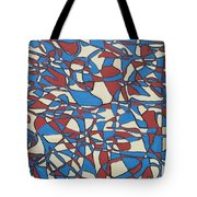 Planet Abstract Tote Bag