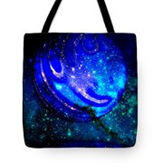Planet Disector Reflected Tote Bag
