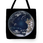 Planet Earth 600 Million Years Ago Tote Bag