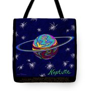 Planets 7 8 9 - Science Tote Bag