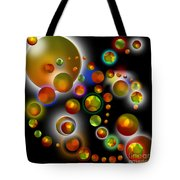 Planets Aligned Tote Bag
