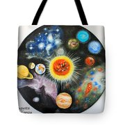 Planets And Nebulae In A Day Tote Bag