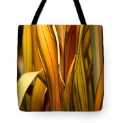 Plant In Yellow And Green Tote Bag