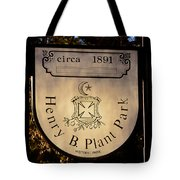 Plant Park Since 1891 Tote Bag