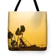 Plant Silhouette Tote Bag