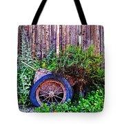 Planted Wheel Tote Bag