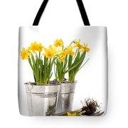 Planting Bulbs Tote Bag