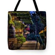 Plants And Boardwalk V Tote Bag
