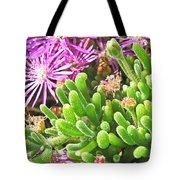 Plants Flowers Tote Bag