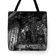 Plants Through The Window Tote Bag