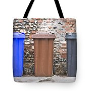 Plastic Bins Tote Bag