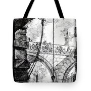 Plate 4 From The Carceri Series Tote Bag