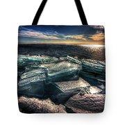 Plate Ice Brighton Beach Duluth Tote Bag