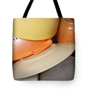 Plates Dishes And Cups Drying Tote Bag