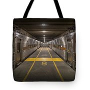 Platform Eight At Union Station Tote Bag