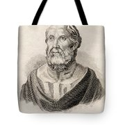 Plato From Crabbes Historical Dictionary Tote Bag