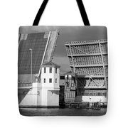 Platt Street Bridge Opening Tote Bag by David Lee Thompson