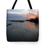 Platte River, Nebraska Tote Bag