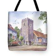 Plaxtol Church Wedding Tote Bag