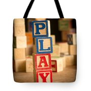 Play - Alphabet Blocks Tote Bag