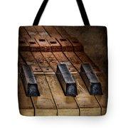 Play Me An Old Hymn Tote Bag