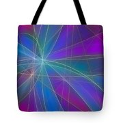 Play Of Colours Tote Bag