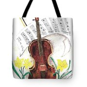 Play To The Lord Tote Bag