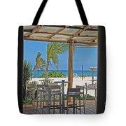 Playa Blanca Restaurant Bar Area Punta Cana Dominican Republic Tote Bag