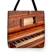 Piano Keys In The Key Of Life Tote Bag