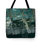 Playful Abstract Reflections Tote Bag
