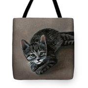 Playful Kitten Tote Bag