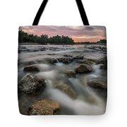 Playful River Tote Bag