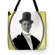 Playing Card Of Actor And Director Romain Fielding Unknown Date-2008 Tote Bag