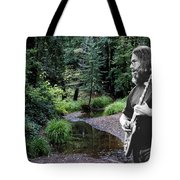 Playing For The Creek Tote Bag