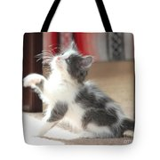 Playing Kitten Tote Bag