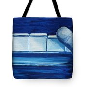 Playing The Blues Tote Bag