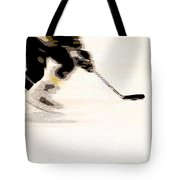 Playing The Game Tote Bag by Karol Livote