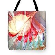 Playing With Colors Tote Bag by Anastasiya Malakhova