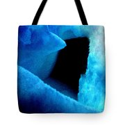 Playing With The Snow And Ice Kappl Mountain Austria  Tote Bag