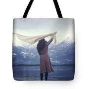 Playing With Wind Tote Bag