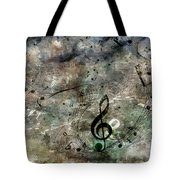 Playing Your Song Tote Bag