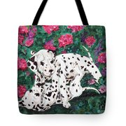 Play'n In The Posies Tote Bag