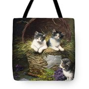Playtime Tote Bag by Leon Charles Huber
