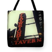 Playwright Tavern Tote Bag