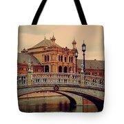 Plaza De Espana 10. Seville Tote Bag by Jenny Rainbow