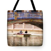 Plaza De Espana Rowboats Tote Bag