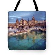 Plaza De Espana Seville II Tote Bag