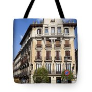 Plaza De Ramales Tenement House Tote Bag