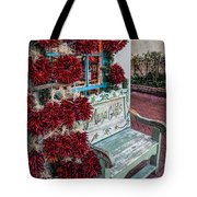 Plaza Gifts Bench Tote Bag